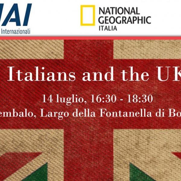 Presentazione di Italians and the UK