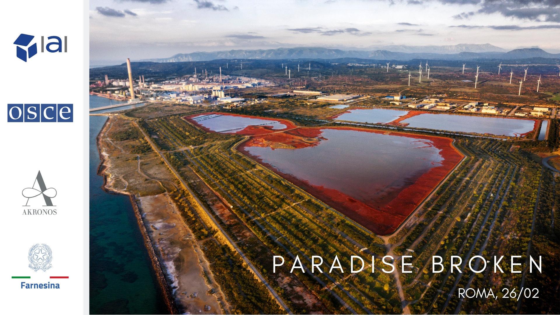 Paradise Broken - La minaccia dei crimini ambientali